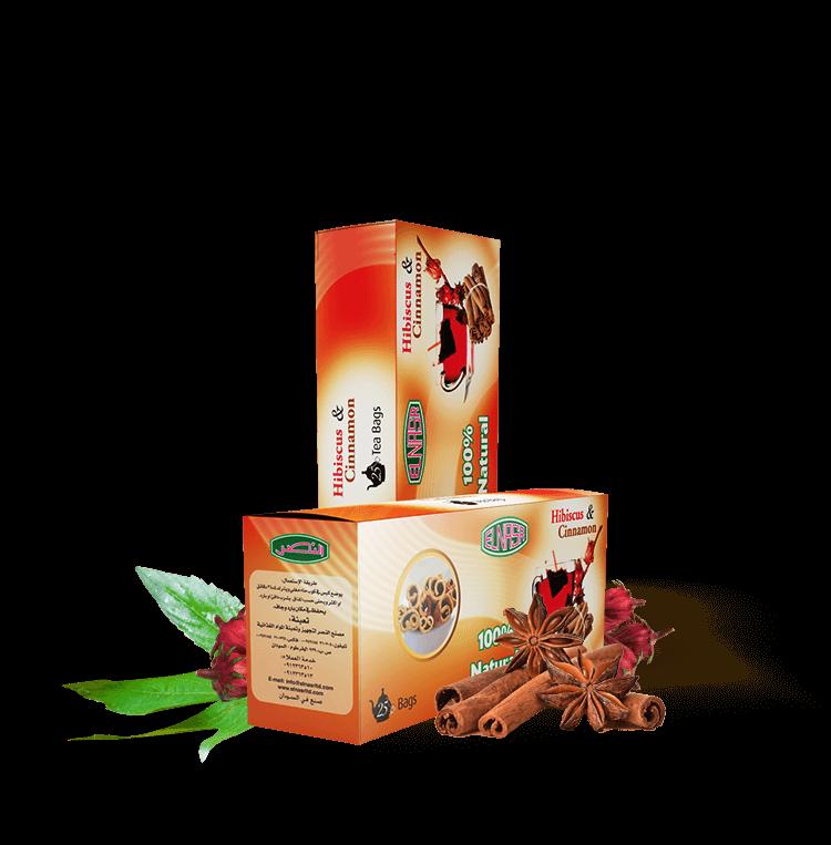 Hibiscus & Cinnamon Tea Bags